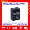 6V4AH (3FM4) étanche au plomb acide de batterie rechargeable