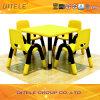 Plastic Table en Chair met Roestvrij staal Table Leg (ifp-012)