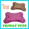 Couvre-tapis de corail bon marché de chat de crabot de velours de doux et de confort (WY161056-2A/C)