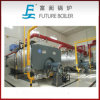 Petróleo 3-Pass horizontal industrial de Wns/caldeira de vapor despedida gás