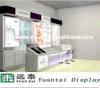 Sale를 위한 코너 벽 Mounted Cosmetic Display Cabinet Shopping Mall Cosmetic Kiosk