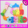 Lowest Price of Wooden Toy English Alphabet Wooden Jigsaw Puzzle for Children W14I011
