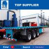 Flachbett-Behälter-Schlussteil-LKW des Titan-Fahrzeug--20FT 40FT mit Torsion-Verschlüssen