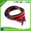 De geelgroene Draden en de Kabels van de Hittebestendigheid van het Silicone van Braidless van de Kleur RubberIn Auto