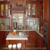 Gabinete de cozinha do projeto da madeira contínua para a mobília Home