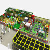 Campo de jogos interno da selva a mais nova do divertimento do equipamento da criança