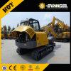 mini excavatrice Xe60 de la chenille 6t