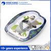 Ustensiles de cuisine Non-Disposable unicolor Dîner de la plaque d'aliments en plastique de la mélamine