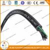 Câble d'alimentation normal 3*14AWG de gaine de PVC d'isolation de l'UL 1277 PVC/Nylon