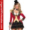 Señora Sexy Costume del amaestrador del circo de la manera