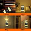 2差込式LEDの夜は&ndashをつける; 1つの(AC及びDC) &ndashに付き2つ; 寝室、浴室、玄関、階段、または暗室(暖かい白)のために大きい