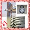 Sistema de acero sumergido caliente del andamio del encofrado de la azotea del bloque de cemento de Galvanizd