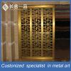 Décalage de salle de découpe au laser doré à l'inox à la meilleure qualité personnalisé