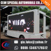 HD Circuit P8 Outdoor LED Wall Video Truck / Car / Van Affichage publicitaire Affichage LED mobile
