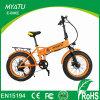 20 Zoll-fetter Gummireifen-elektrisches faltendes Fahrrad