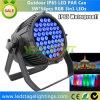 Ventas al por mayor precio de la etapa LED PAR LED 54 * 3W RGB LED Epistar 3en1 por China Fabricante