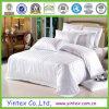 Algodón 100% Hotel Bed Sheets en White Check Design