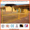 Maille carrée ouvrant la clôture provisoire de treillis métallique