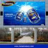 屋外の高い明るさRGB P10はLED表示を防水する