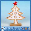 Mini albero di Natale di legno per l'ornamento domestico