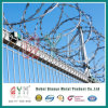 Concertina afeitadora / Cable de acero galvanizado recubierto de PVC Concertina de seguridad de alambre de púas de afeitar