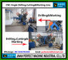 CNC Angle Drilling Machine (250X250X32mm Winkel)