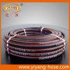 Boyau de haute résistance flexible noir de l'eau de PVC