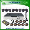 Самые лучшие просмотрения системы охраны обеспеченностью набора DVR камеры купола (BE-9608H8ID)