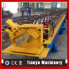 El canal de acero de la lluvia del perfil de aluminio lamina la formación de la máquina