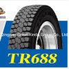 Neumático del triángulo con 305/70r22.5 conveniente para la impulsión de alta velocidad