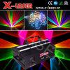 8W RGB Полноцветный лазерный луч Анимация аналоговой модуляции