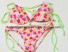 Hot Summerのための女の子のDOT Printed Swimwear