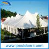 40ft X60ft Pegs e Palo Tent con il PVC Plain Walls e Windows di White