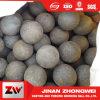 B2 la bola de acero forjado de material para la mina de cobre de molino de bolas