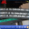 Tuyau en caoutchouc flexible/tuyau à haute pression/tuyau hydraulique SAE100r17