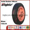 직경 120mm 외바퀴 손수레를 위한 큰 Soild 고무 바퀴 타이어