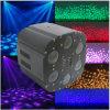 6 Träger-Licht der Augen-LED RGB 3in1 für Stadiums-Beleuchtung/Disco-Beleuchtung
