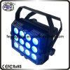 China hizo el color 5in1 del PCS RGBWA de la decoración 12 de la iluminación de Chriatmas DMX y el IR sin hilos la luz impermeable teledirigida IP65 de la IGUALDAD iluminación impermeable de la IGUALDAD del LED