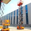 6-12m 300kg de alta calidad Venta caliente trabajos aéreos tijera Autopropulsada la plataforma de elevación Talbe con precio de fábrica