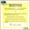 Алюминий светоотражающая пользовательские предупреждения безопасности дорожного движения подписать