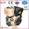 Motor diesel refrigerado aprobado del Ce para el generador