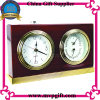 Tabela de quartzo de madeira de alta qualidade o Relógio