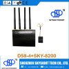 D58-4 Fpv 5.8g 4CH Audio Video 5.8GHz Diversity Receiver Sky-8200 Fpv 200MW 32 Channel sistema de pesos americano Transmitter