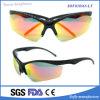 Óculos de sol protetores personalizados OEM populares do frame preto dos óculos de sol da forma