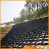 Zwarte HDPE Geosynthetic 75mm Ultrasoon Lassen Geocells