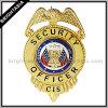 Custom duro esmalte metal policía insignia (BYH-10037)