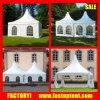 Алюминиевый шатер 3X3 сени Gazebo башенкы PVC, 4X4, 5X5, 6X6m