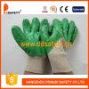 Хлопок перчатки нитриловые перчатки с покрытием Dcn304
