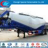 케냐 58cbm Cement Tanker Trailer 40ton Bulk Cement Tank Trailer