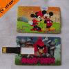 Karikatur-dünnes Karte USB-Blitz-Laufwerk Pendrive (YT-3101)